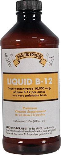 DURVET INC D Rooster Booster Liquid Vitamin B-12 16 Ounce from DURVET INC D