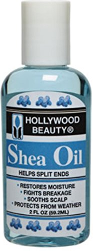 Hollywood Beauty Shea Oil, 2 oz (Pack of 2)