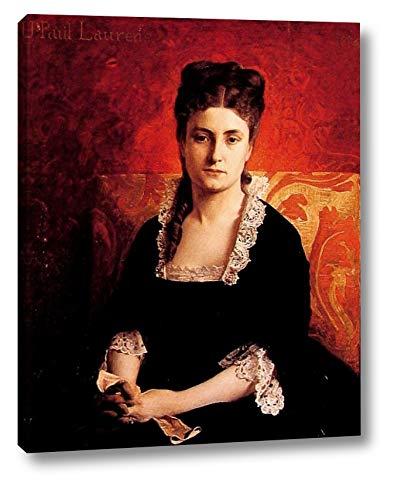 Portrait de Femme by Jean-Paul Laurens - 11