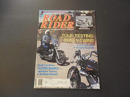 - Rider Dec 1988 Harley Sportster; Yamaha Route 66; Outer Banks