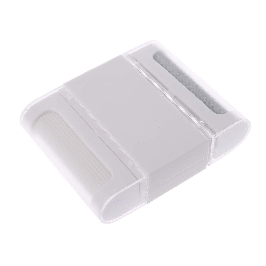 blanc Chandail de Rasoir en Tissu Peigne /à Laine Anti-peluches Manyo Mini Brosse Vetement Textile Anti-bouloches Double Fins