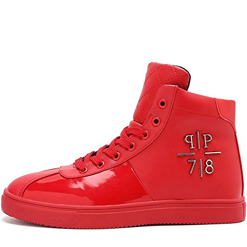 shoes Mocassini Shufang shoes Uomo Mocassini Red Uomo Shufang Shufang Red fqawxpgZvq