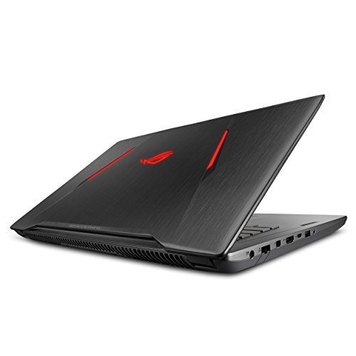 "ASUS ROG STRIX AMD Gaming Laptop, Ryzen 7 1700, Radeon RX580 4GB, 17.3"" FHD FreeSync Display, 16GB DDR4, 256GB SSD + 1TB HDD, Video Editing, GL702ZC ()"