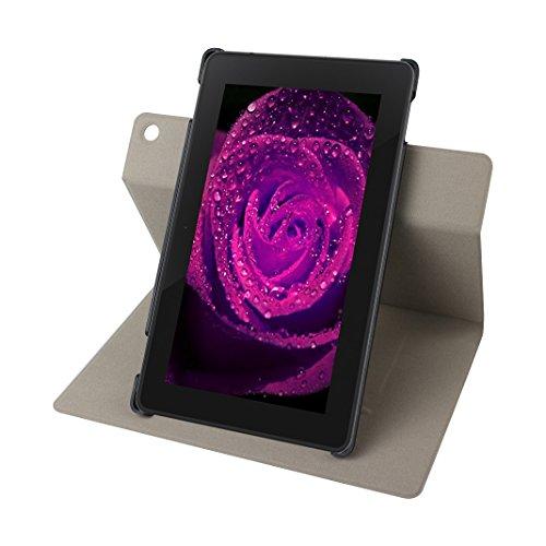 Kindle Fire HD 8 2016 Cáscara, Kindle Fire HD 8 2016 Funda Protectora, Moon mood® PU Cuero Duro PC Interior Patrón de Mármol Caso Cubierta Tableta Concha con Cierre Magnético Tarjetas Ranuras Soporte  Mármol-5