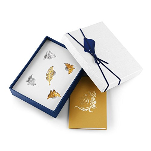 LONMAX USB Flash Drives 16GB Gift Set Leaves USB Stick with Butterfly Gifts for Friend Kids Lover Christmas (16GB, Leaf Style) by LONMAX