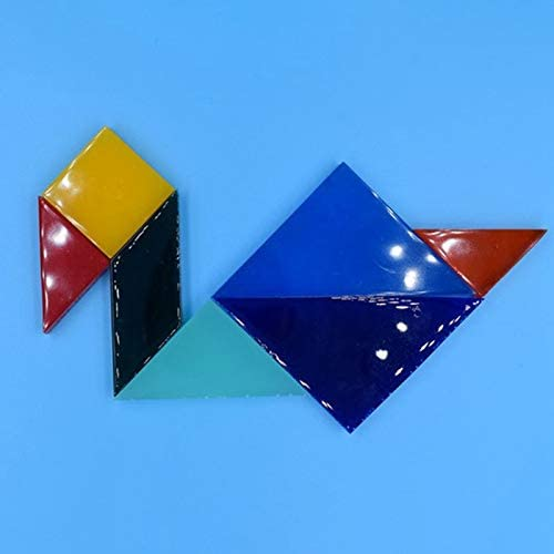 TOOGOO Resin Epoxy Silicone Mold Create Most Geometric Shapes Jigsaw Puzzle,Jigsaw Puzzle