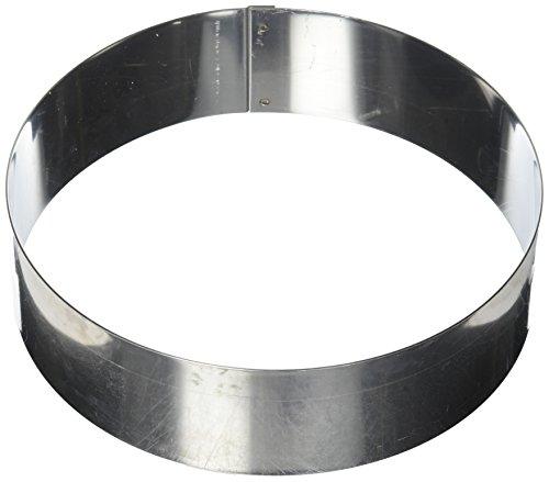 Matfer Bourgeat 371806 Ice Cake Ring, Silver by Matfer Bourgeat
