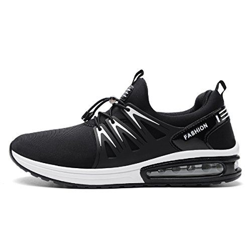 Outdoor Drive for Jogging Gym Black Lightweight Shoes Running for Men's Exercise Sport Athletic Walking Cushion Air Men fnS67v