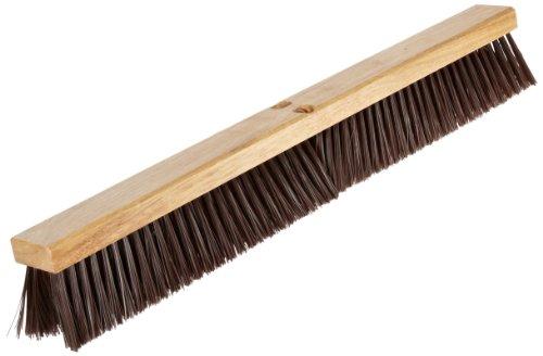 (Nupla 68042 Hardwood Heavy Duty Hardwood Classic Broom Head with Bracket, 30