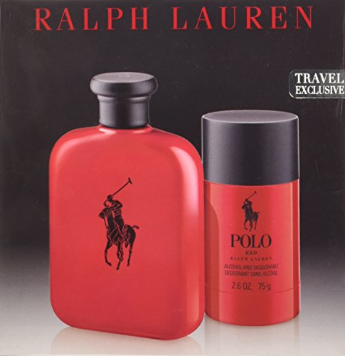Ralph Lauren Polo Red Gift Set, 2 Count