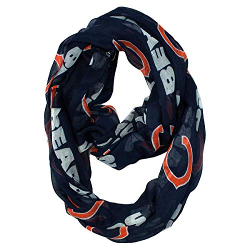 - NFL Chicago Bears  Sheer Infinity Scarf
