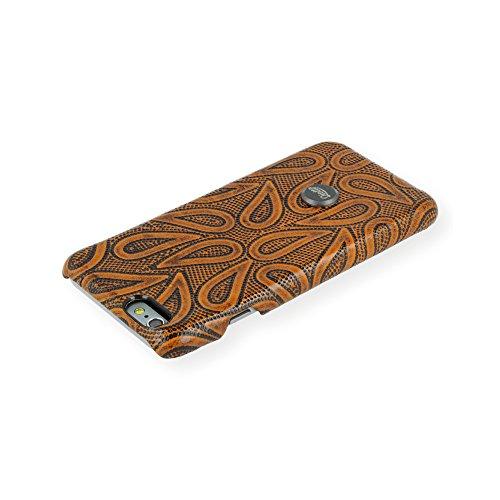 QIOTTI QX-C-0930-08-IP6 Snapcase Q.Snap Autumn Premium Echtleder für Apple iPhone 6/6S braun
