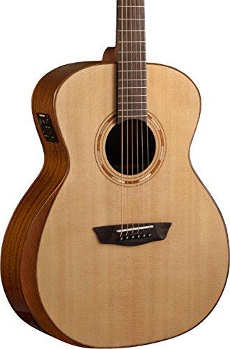 (Washburn Comfort Series Grand Auditorium Acoustic-Electric Guitar Natural)