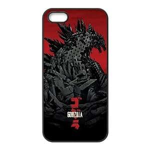 Godzilla Movie iPhone 5 5s Cell Phone Case Black&Phone Accessory STC_147065