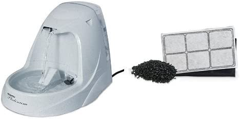Amazon.com: PetSafe Drinkwell Platinum fuente de agua para ...