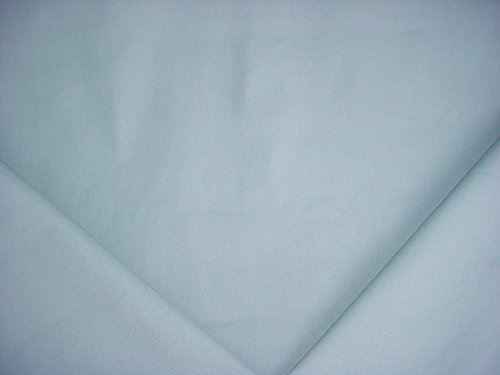 323H10 - Aqua Blue Sailcloth Duck Cotton Canvas Designer Upholstery Drapery Fabric - By the Yard