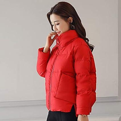Lannmart Slim Thick Short Female Jacket Coat Causal Stand Collar Warm Winter Jacket Women 2018 Down