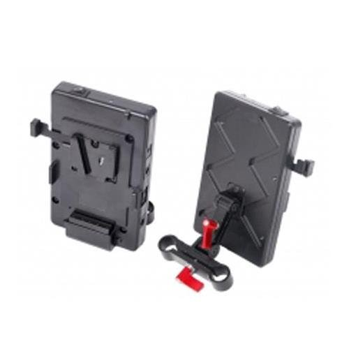 Came-TV VM02 V-Mount Battery Plate, Includes Connection Cables by Came-TV
