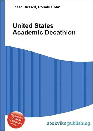 d42fb3869 United States Academic Decathlon  Amazon.co.uk  Ronald Cohn Jesse ...