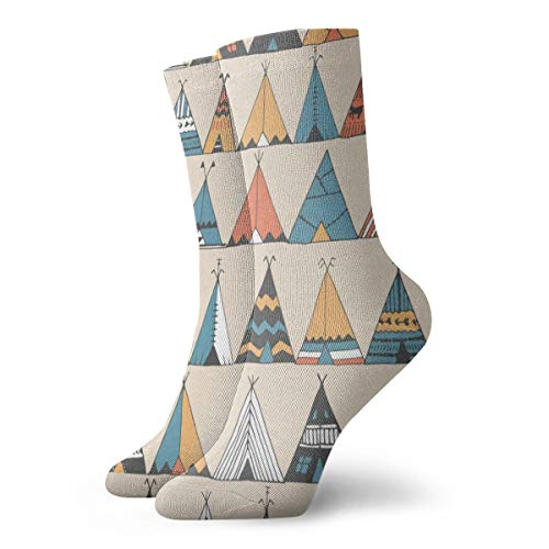 Crew Socks Teepee Pattern Hot Womens Stocking Party for sale  Delivered anywhere in USA