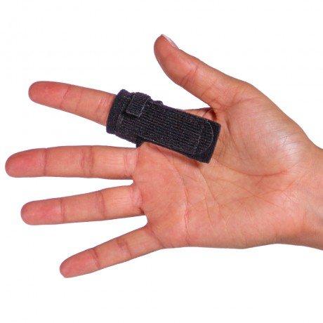 BraceAbility Trigger Finger Splint Natural product image