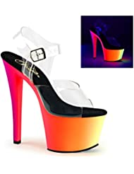 Pleaser Womens RAINBOW-308UV Sandals