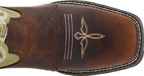 Women's Durango Square Toe Western Boots BROWN 9.5 M by Durango (Image #7)