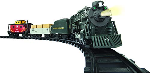 Lionel Pennsylvania Flyer Battery-powered Model Train Set Ready to Play w/ Remote (Santas Village Express Train Set)