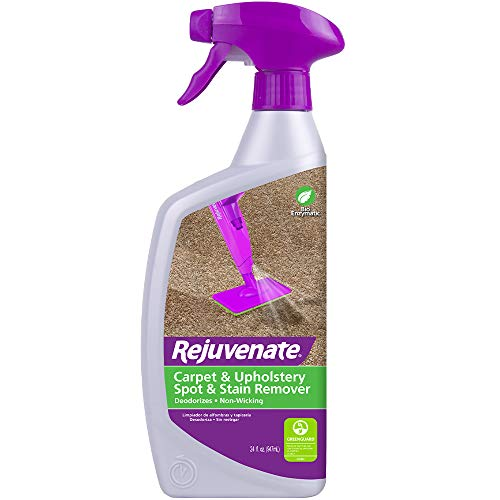 atic Carpet & Upholstery Spot & Stain Remover Simply Spray and Walk Away – Removes Mud, Chocolate, Grass, Pet Stains and More – 24 Ounce ()