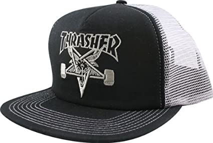 24a02959176 Amazon.com  Thrasher Mesh Sk8 Goat Hat  Sports   Outdoors