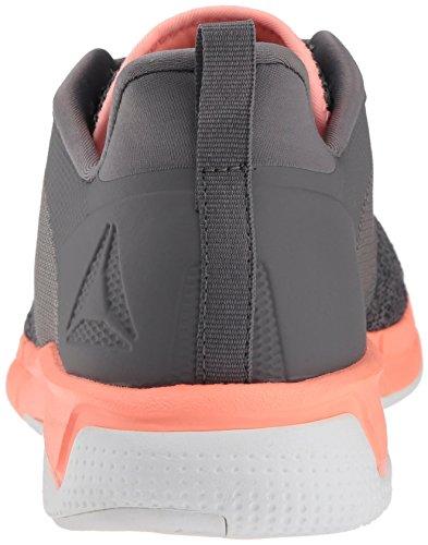 Shoe Grey Pi Cordon 0 ash digital Print Zapatos Talla Correr Run amp; Mujeres Shark Reebok 3 Para Medios Bajos SAfqf