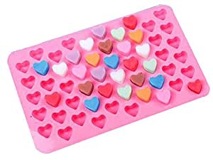 Cheap Innovative Easy Release 55 Candy Molds Ice Cube Mold Trays Mini Love