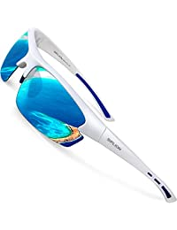 Men's Polarized Sunglasses Sports Cycling Fishing Golf TR90 Superlight Frame