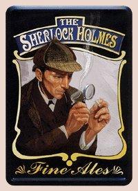 British / English Men Themed Fine Ales Metal Cards - (Fine Beer Pub Sign)