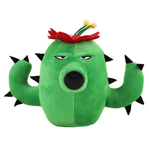 Soft Stuffed Doll Toy - WAREHOUSEDEALS Inspired by Plants VS Zombies PVZ Cactus Plush Toys Doll Stuffed Soft
