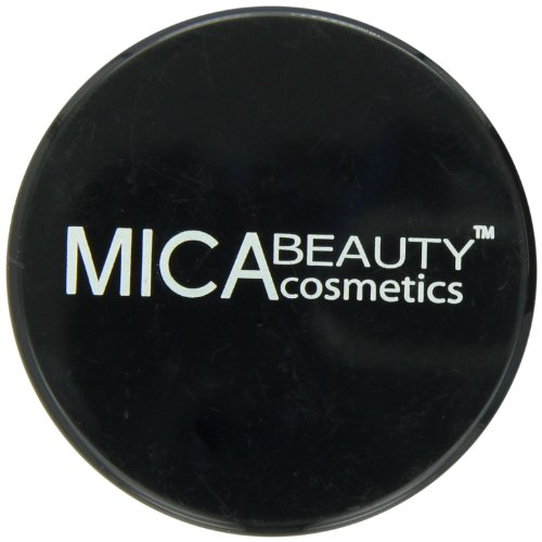 MicaBeauty Mineral Foundation 4, Honey, 9 Gram - Mica Natural Foundation