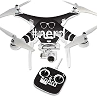Skin For DJI Phantom 3 Standard – Nerd | MightySkins Protective, Durable, and Unique Vinyl Decal wrap cover | Easy To Apply, Remove, and Change Styles | Made in the USA