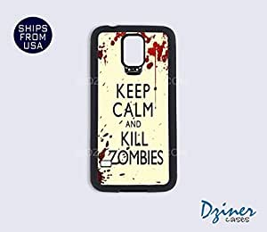 Galaxy S5 Case - Keep Calm Kill Zoombies