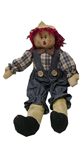 Craft Outlet Raggedy Andy Doll, 17-Inch