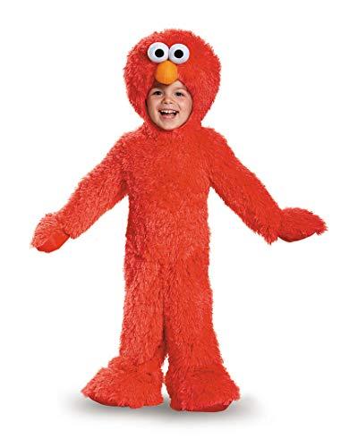 Elmo Extra Deluxe Plush Costume, (12-18 -