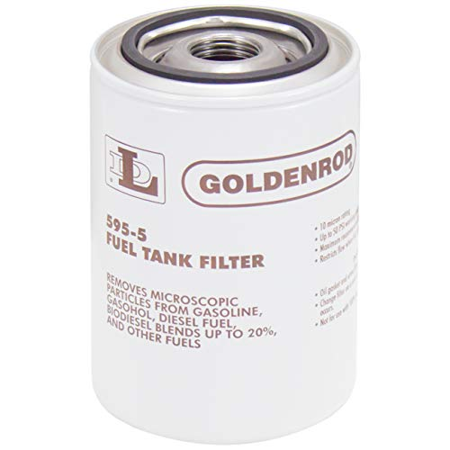 GOLDENROD (595-5) Fuel Tank Filter Replacement Canister