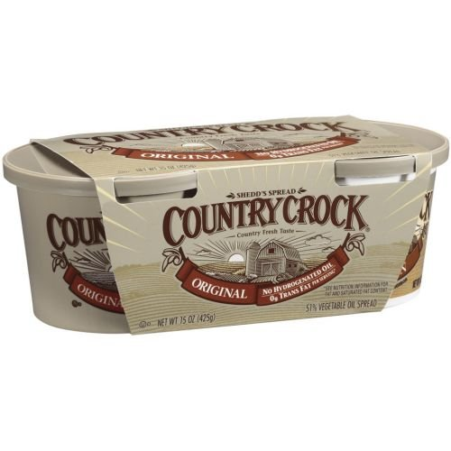 (Country Crock Original Vegetable Oil Spread, 7.5 Ounce - 12 per case.)