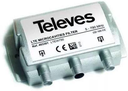 Televes 405401 Filtro para TV para Colocar EN EL MASTIL