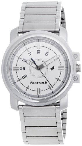Fastrack Economy Analog White Dial Men's Watch – NE3039SM01