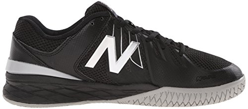 Nuovo Equilibrio Mens Mc1006v1 Scarpa Da Tennis Nero / Argento