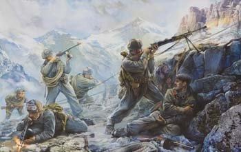 * Zvesda 1:35 - Sovietmountain Troops