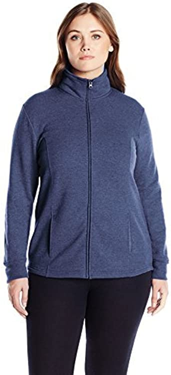 Just My Size Womens Plus Size Active Graphic Cowl Neck Pullover