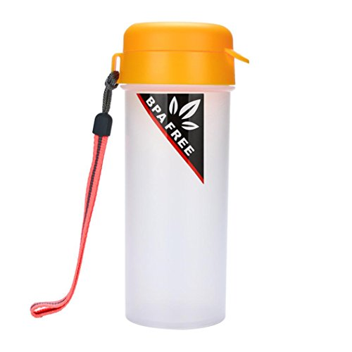 SUJING Sport Water Bottle Drinking Bottle Travel Mugs Plasti