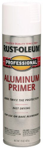 Rust-Oleum 254170 Professional Primer Spray Paint, 15 oz, Aluminum