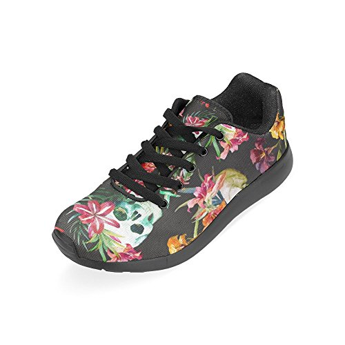 on 15 Zenzzle Women's Graphic Casual Pattern Print US Skull 6 Running Shoes Athletic Size Sneakers Pattern Lightweight rxqFqwXa